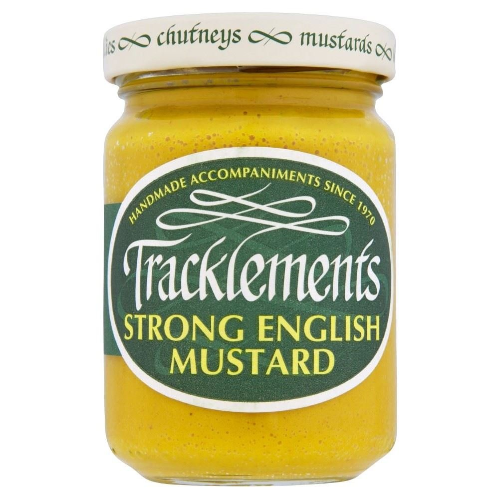 Tracklements Strong English Mustard (140g) - Pack of 2