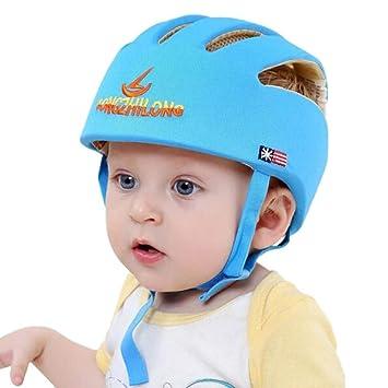 GORDESC 1 Pieza SONGZHILONG Gorro de bebé Cascos de bebé Casco Sombreros de los niños de