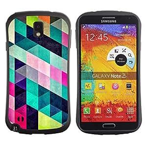 Suave TPU GEL Carcasa Funda Silicona Blando Estuche Caso de protección (para) Samsung Note 3 / CECELL Phone case / / Pattern Design Fashion Colorful /