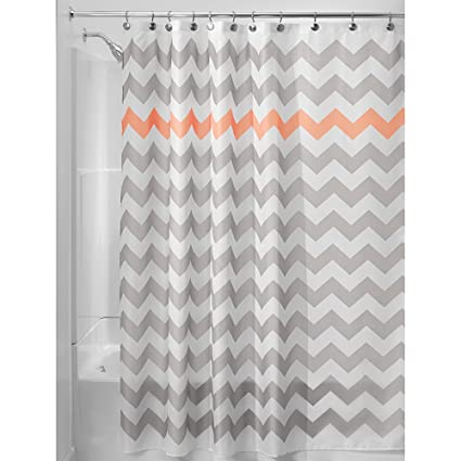 Amazon Chevron Shower Curtain For Master Guest Kids College