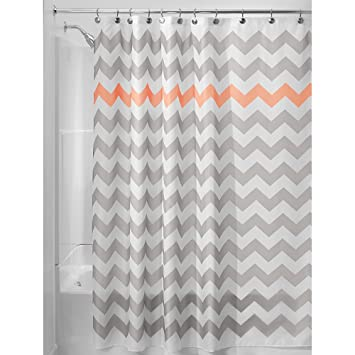Amazon.com: InterDesign Chevron Shower Curtain, 72 x 72-Inch ...