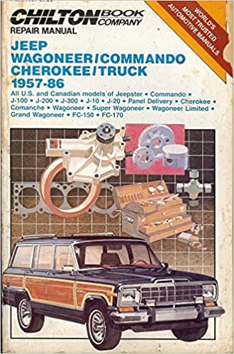 Chiltons repair manual jeep wagoneercommando cherokeetruck 1957 chiltons repair manual jeep wagoneercommando cherokeetruck 1957 86 chilton automotive books 9780801977206 amazon books fandeluxe Choice Image