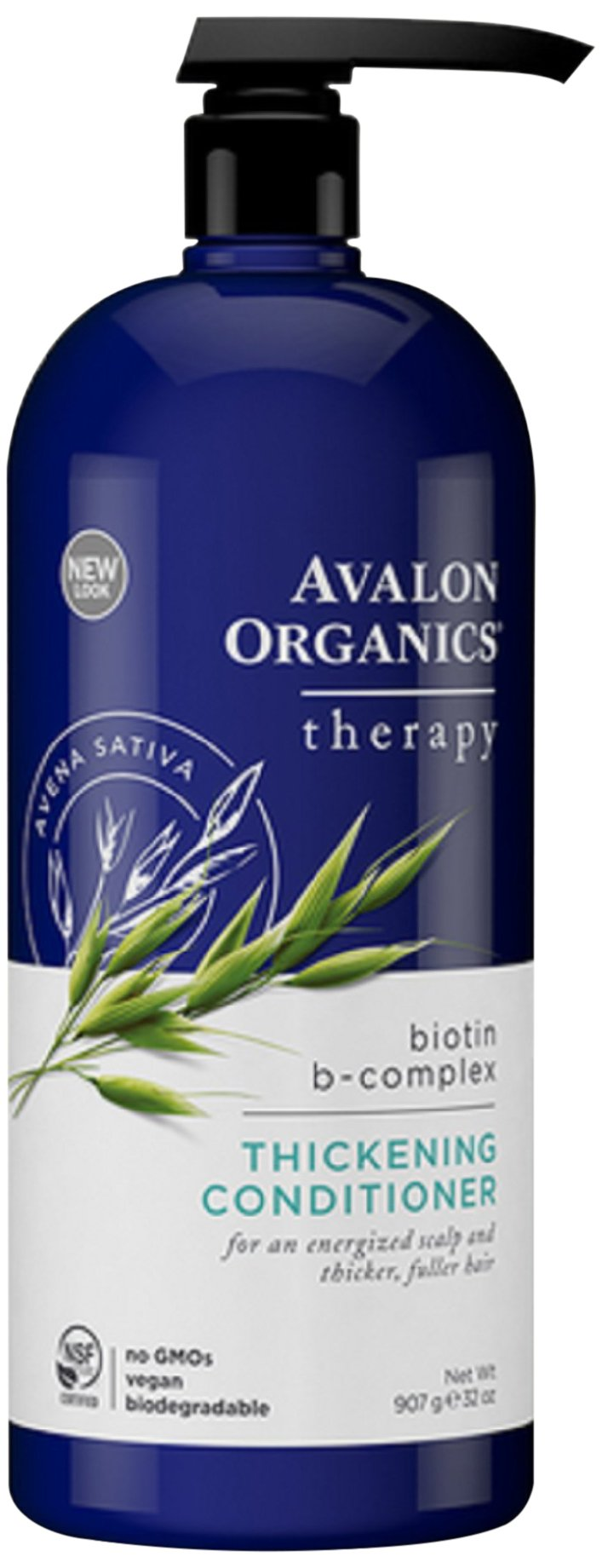 Avalon Organics Biotin-B Complex Thickening Conditioner, 32 Ounce