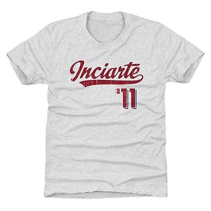 online retailer 708f7 9e7fa Amazon.com : 500 LEVEL Ender Inciarte Atlanta Baseball Kids ...