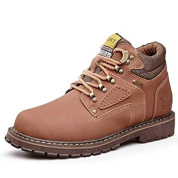 LEFT&RIGHT Zapatos De Senderismo para Hombres Botas, Botas Altas para Exteriores Botas Altas Antideslizantes Zapatos