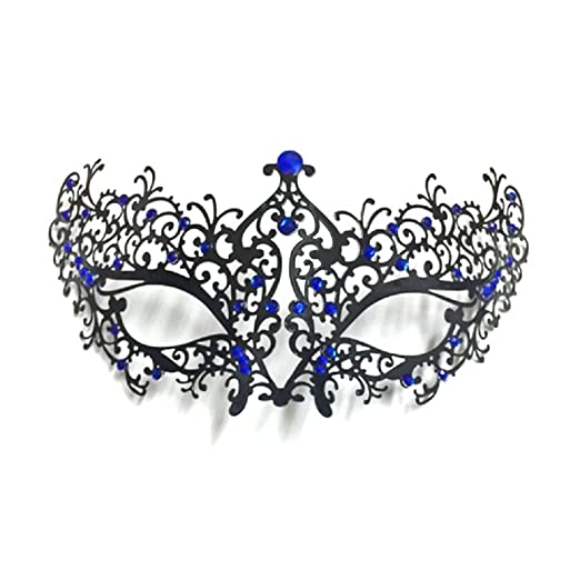 Raycity Laser Cut Metal Masquerade Mask Venetian Party Evening Ball Prom Fancy Dress 2