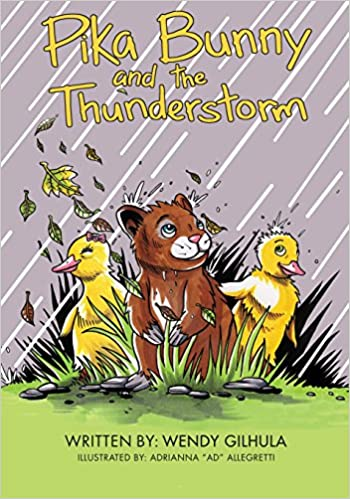 Image result for pika bunny and the thunderstorm