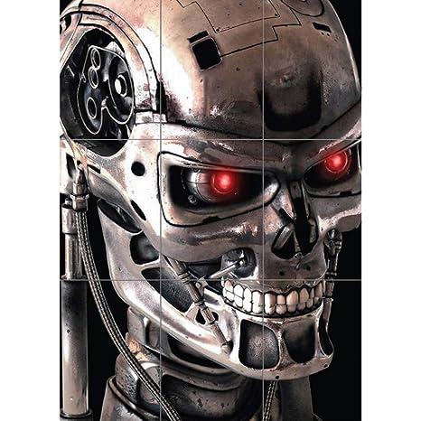 TERMINATOR 2 ROBOT SKELETON GIANT PRINT AFICHE CARTEL IMPRIMIR CARTELLO POSTER G204