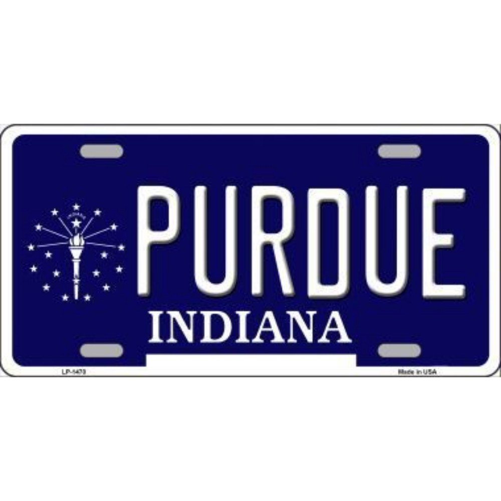 Smart Blonde LP-1470 Purdue Indiana Metal Novelty License Plate 34205976