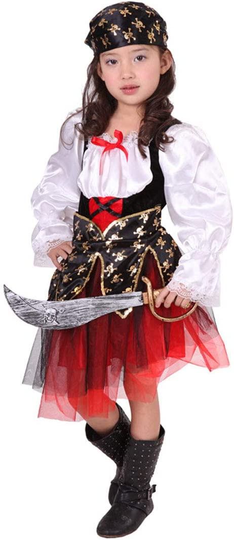 Jolg Disfraz de Pirata para niños Novel, Ideal para carnavales ...