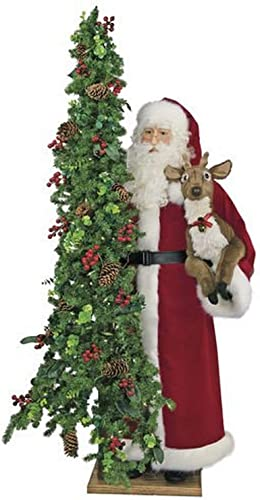 Queens of Christmas Oh Deer Father Christmas Figurine