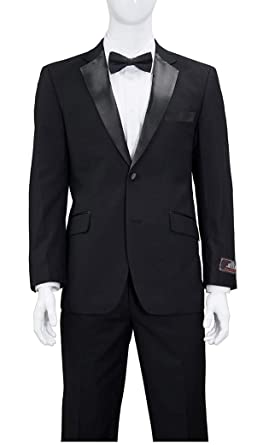 96a6ff9241 Modern Fit Tuxedo - Available in Black or White at Amazon Men s ...