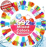 Water Balloons for Kids Girls Boys Balloons Set Party Games Quick Fill Balloons 296 Bunches for Swimming Pool