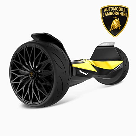 Lamborghini Hoverboard,8.5 Off Road Hover Board All Terrain,with App and LED Lights Two-Wheel Bluetooth Self Balancing Scooter with UL2272 Certified for Kids and Adult