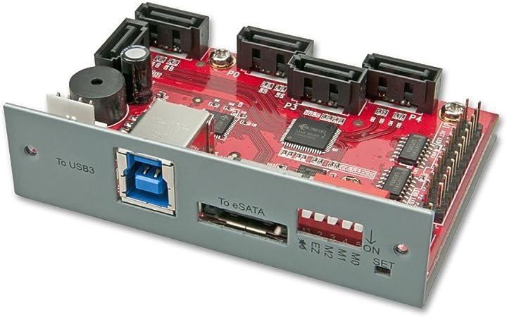 Lindy Usb 3 0 Esata Zu 5 Sata Port Multiplier Raid Computer Zubehör