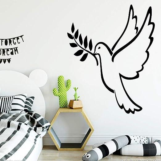 Nuevo pájaro autoadhesivo de vinilo papel tapiz para niños sala de ...