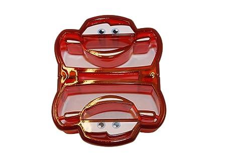 Amazon.com: Disney. Cortador de corteza de tortas., Carros ...