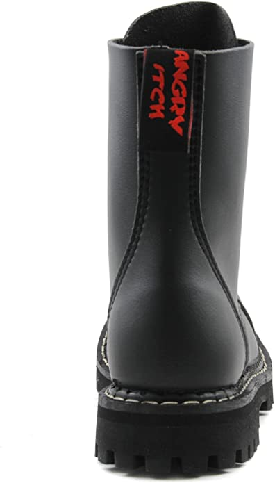 Angry Itch - 8-Hole Gothic Punk Black