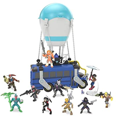 Fortnite Battle Bus with 10 2-inch Figures: Toys & Games