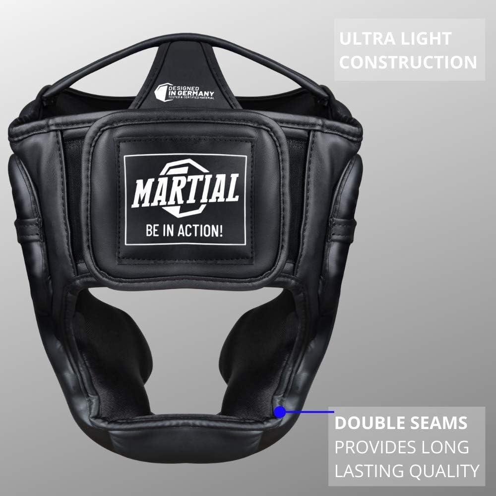 protector de cabeza marca martial