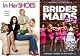 Bridesmaids + In Her Shoes Comedy DVD Double Feature 2 Movies double feature bundle