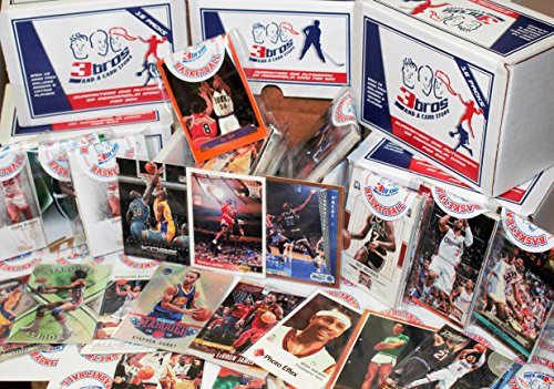 Autograph Card (16 pack sealed box of basketball cards with 15 different modern & vintage cards from all brands in each pack. Guaranteed one autograph or memorabilia card per box! Great for birthday's!)