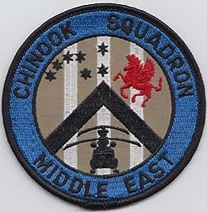 No 7 y 18 escuadrón anglicismo Chinook Ops escuadrón checoeslovaquia RAF remiendo bordado Badge