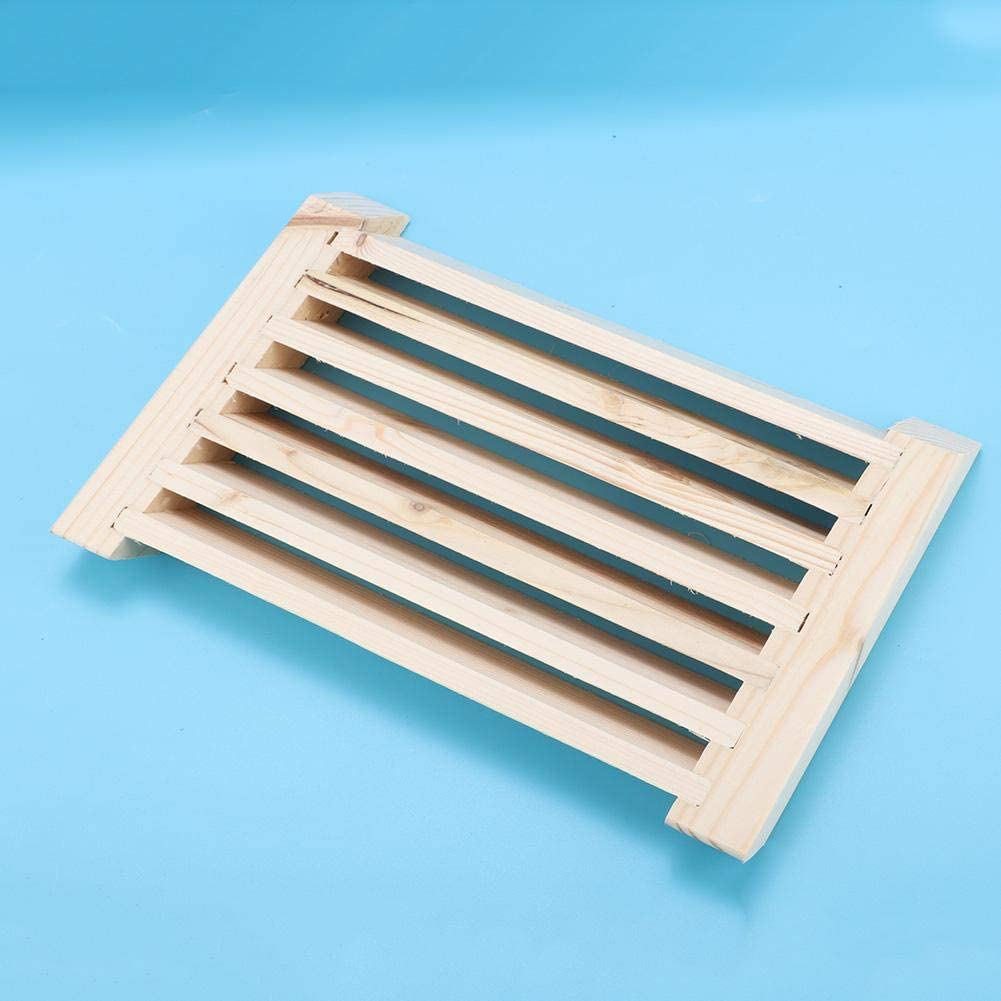 Yisentno L/üftungsgitterplatte Saunazubeh/ör L/üftungsauslass L/üftungssauna-Raumzubeh/ör f/ür das Dampfbad zu Hause SPA-Saunaraum Holz-Saunaklappen