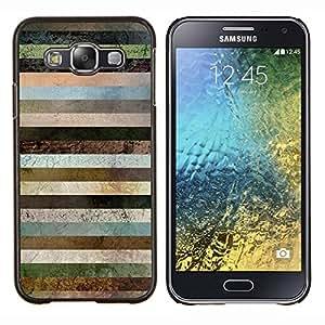 - autumn fall leaves white pattern brown - - Modelo de la piel protectora de la cubierta del caso FOR Samsung Galaxy E5 E500 RetroCandy