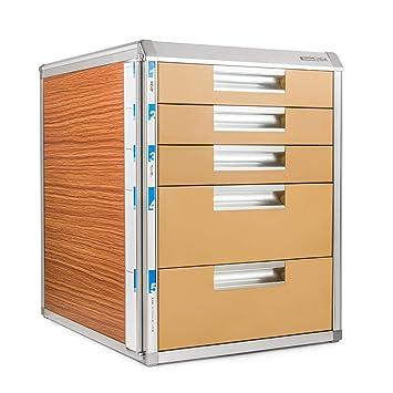 Gabinete para Archivos, Tipo cajón de Cinco Capas con gabinete para Archivos de Oficina con