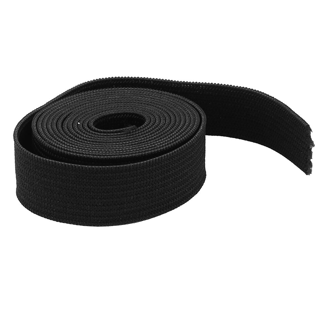 uxcell Clothing Hairband DIY Craft Black Elastic Band Sewing Tailor Tool 1M a15041400ux0120
