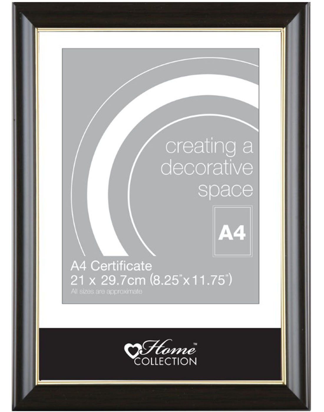 Anker Home Collection A4 Beige Certificate Photo/Picture Frame Anker International BAFG/3