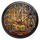 Springfield Chicks Low Profile Patio Thermometer (13.25-inch)