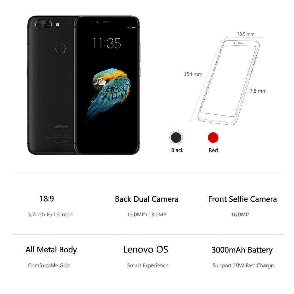 Oferta smartphone Lenovo S5 por 149 euros (Cupón Descuento) 1 Lenovo Vibe P2