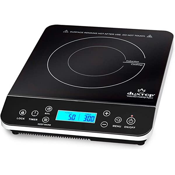 Amazon.com: duxtop 1800-watt portátil con sensor táctil ...