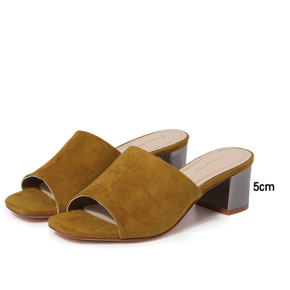 High Heels Tragen Im Sommer Modische Sandalen Dame Coole Schuhe.