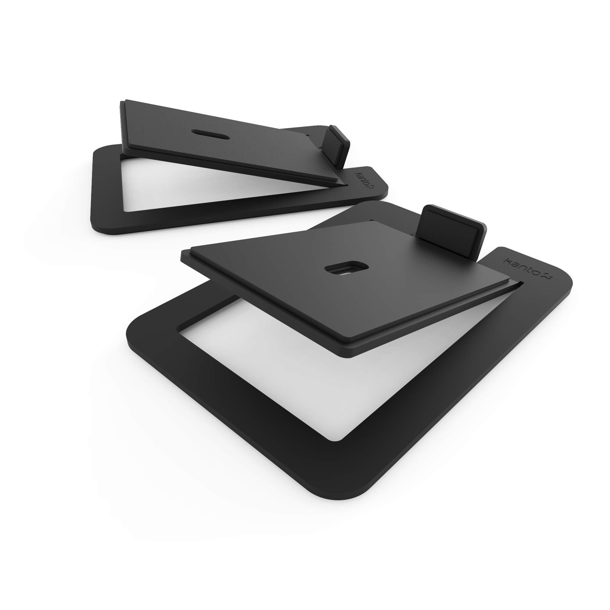 Kanto S6 Desktop Speaker Stands for Large Speakers, Black by Kanto