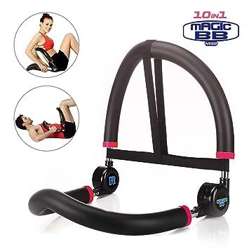 SYOSIN 10 en 1: Máquina Abdominal para Entrenamiento de Fitness, Equipo de Ejercicio, Gimnasio en casa: Amazon.es: Deportes y aire libre