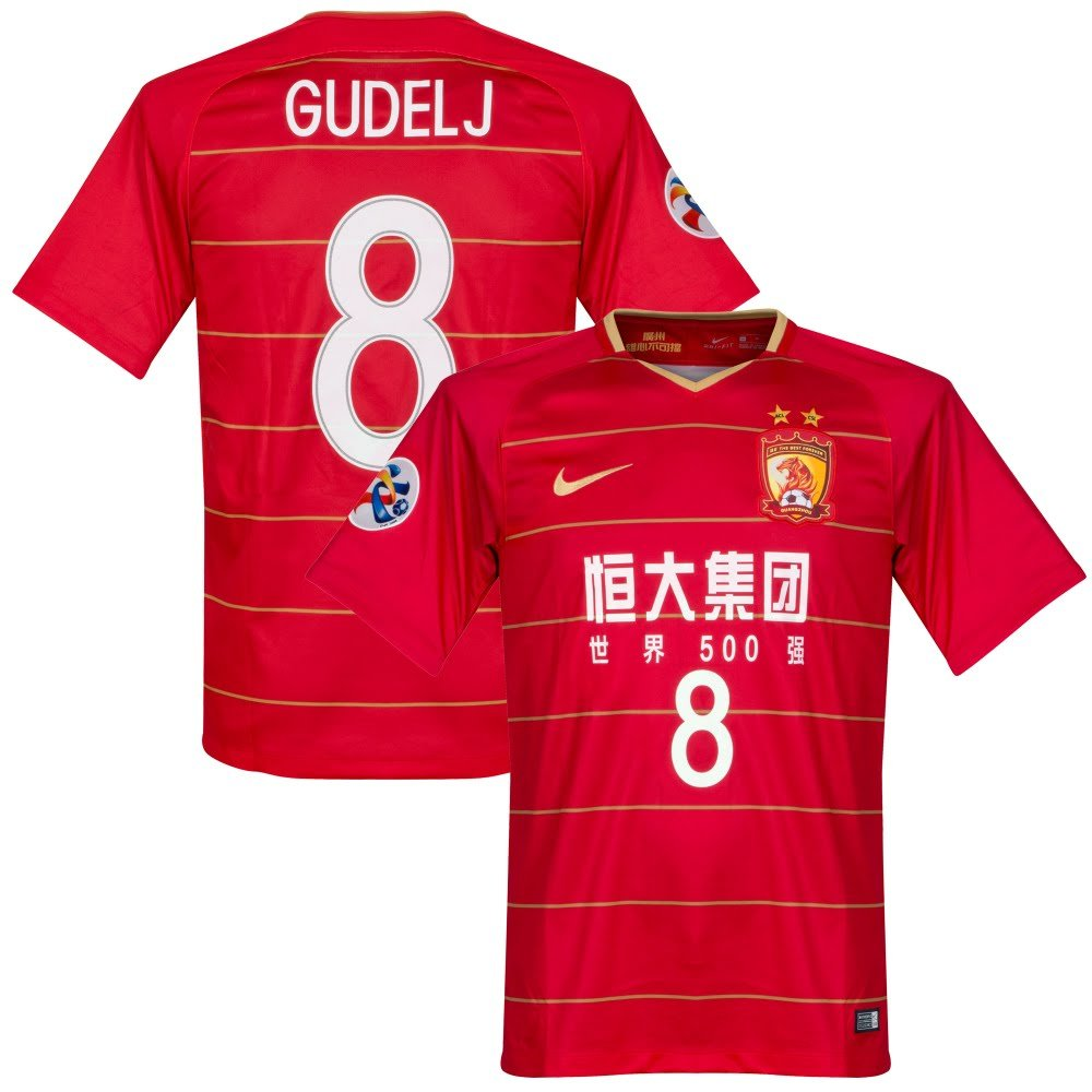 760c55f6858 2019 Urawa Red Diamonds Home Soccer Jersey. Amazon.com : Nike 2018 Guangzhou  Evergrande Home Gudelj 8 Jersey + AFC Champions League Patch (Official ...