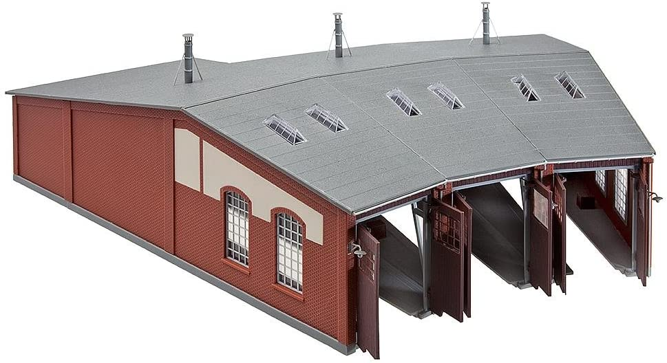 Faller 120176 Three-stall Roundhouse HO Scale Building Kit