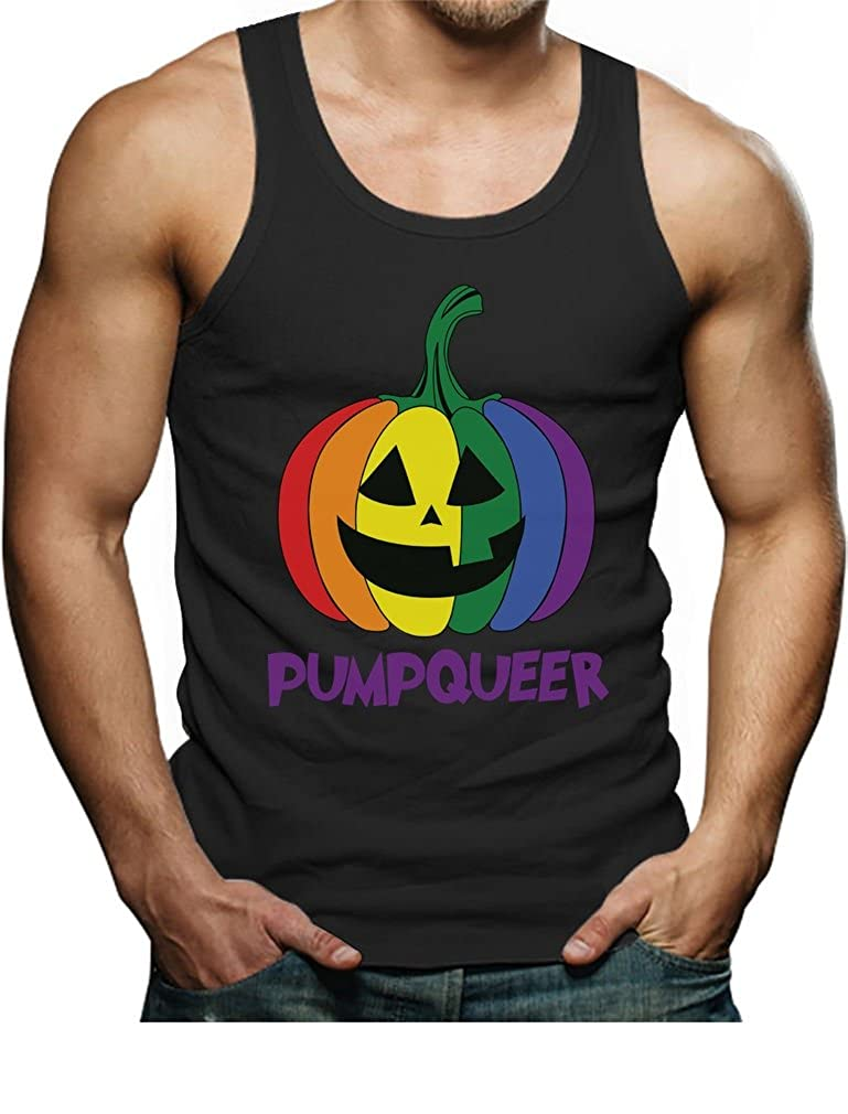 TeeStars PUMPQUEER Rainbow Gay Pride Halloween Singlet