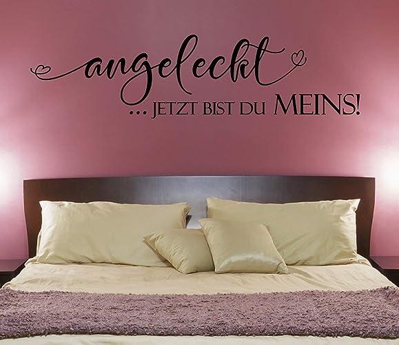 NEU* Wandaufkleber/Wandtattoo/Wandsticker Schlafzimmer Spruch ...