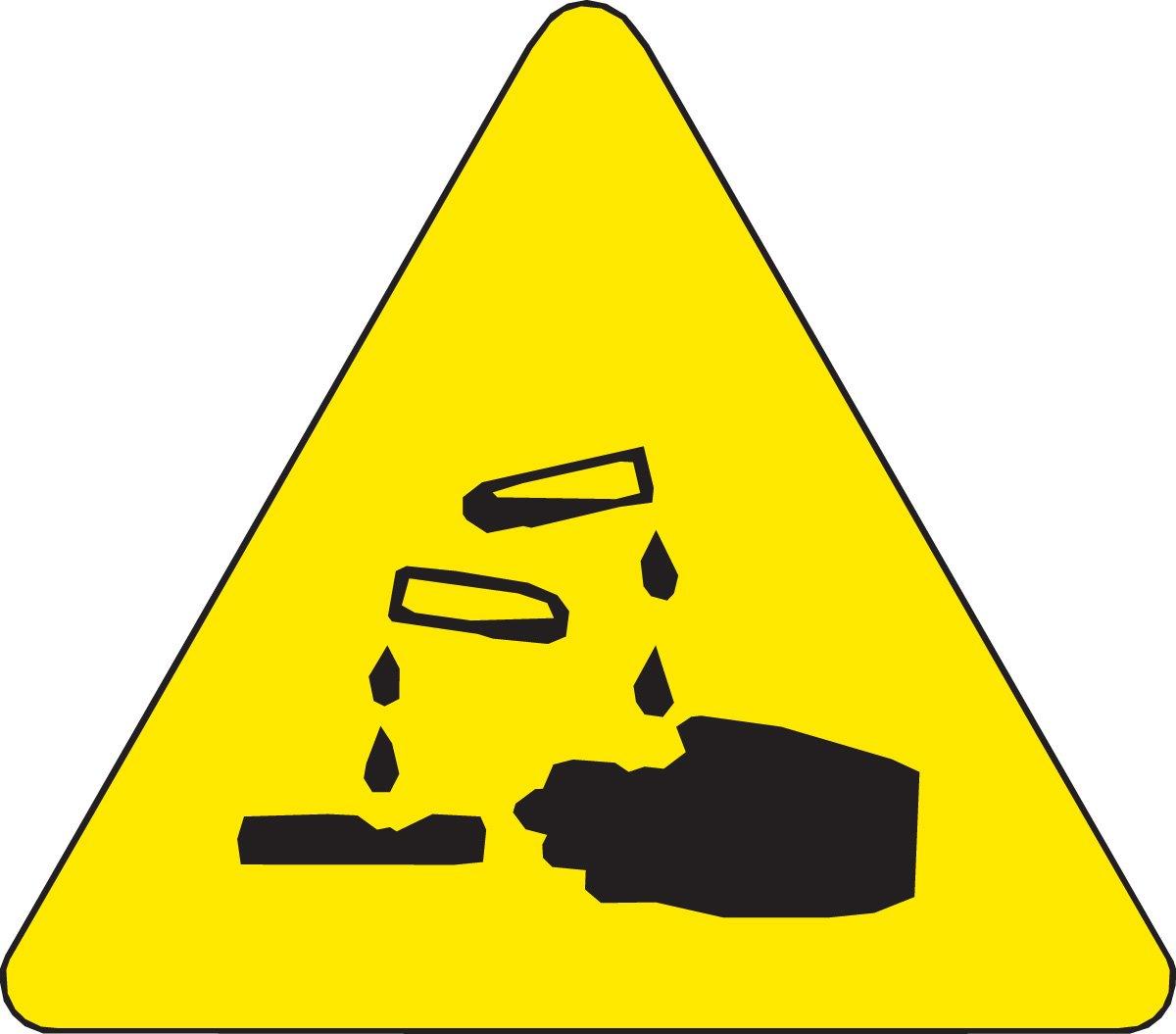 1 Height x 1 Width Black On Yellow Pictogram Acid 10 Labels per Package 1 Height x 1 Width Pictogram Acid 10 Labels per Package Brady 60195 Pressure Sensitive Vinyl Warning Labels