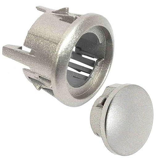 Spares2go - Perilla de botón + montaje de carcasa para ...