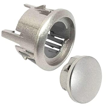 Spares2go - Perilla de botón + montaje de carcasa para microondas ...