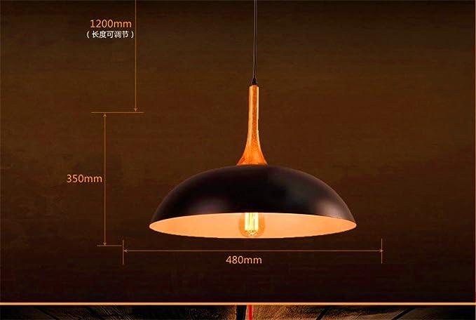 Dengwu lampadari lampade a sospensione plafoniere retrò industriale