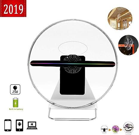 BESTSUGER Ventilador de Holograma 3D 2019, Ventilador de ...