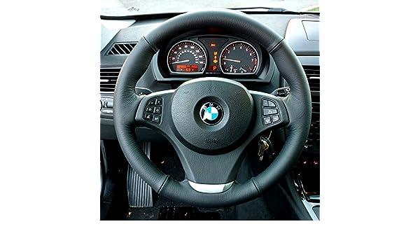 RedlineGoods BMW X5 E53 1999-06 cubierta de volante 3v2: Amazon.es: Coche y moto