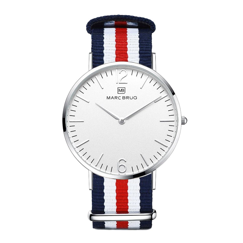 Marc brÜg Herren Armbanduhr Minimalist St. Tropez 41