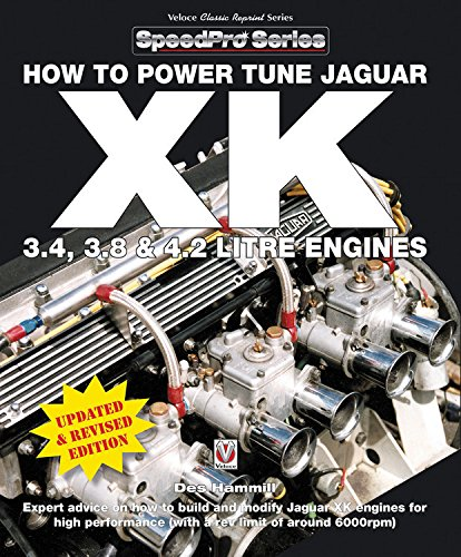 How To Power Tune Jaguar XK 3.4, 3.8 & 4.2 Litre Engines (SpeedPro Series)